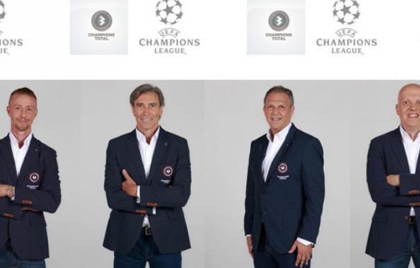 'Guti', 'Lobo' Carrasco, Joaquín Caparrós y Marcos López se incorporan al equipo Champions Total de Atresmedia