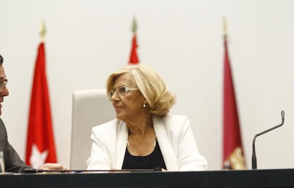 """Carmena ve """"excesivísimamente grande"""" el despacho del alcalde y lo reorganizará """"para sacarle más partido"""""""