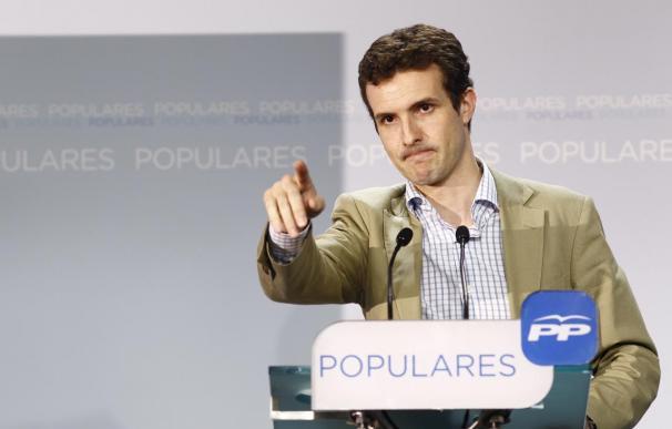 PP se apunta al lenguaje de las redes sociales en el lema de su conferencia: 'X el futuro de España'