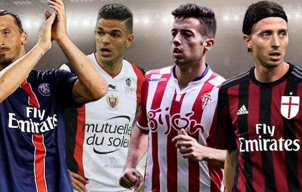 Ibrahimovic, Ben Arfa, Jony... Así es el once de los futbolistas que terminan contrato