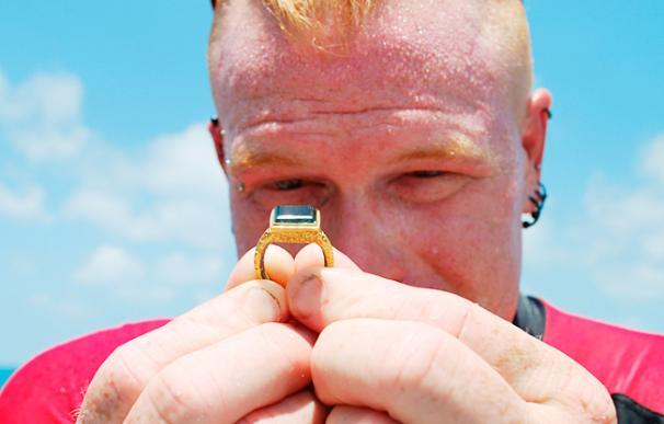 Encuentran en el mar de Florida un anillo valorado en 500.000 dólares