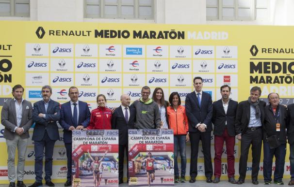 Más de 20.000 corredores disputarán este domingo el Renault Medio Maratón de Madrid