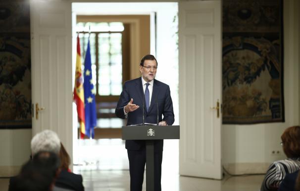 Rajoy señala que las CCAA reciben 10.000 millones de euros más sin necesidad de cambiar el modelo de financiación