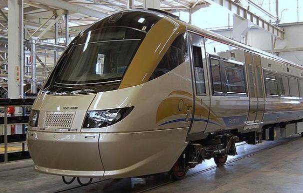 El Gautrain es el primer tren de alta velocidad en toda África. Estará listo para el Mundial de Fútbol 2010.