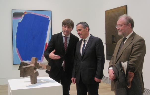 Una pieza en acero de Chillida, nueva Obra invitada del Bellas Artes de Asturias