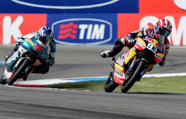 Márquez dice que en el Gran Premio de Cataluña intenta transformar la presión en motivación
