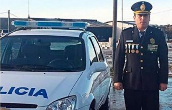 El comisario argentino Marcelo Guerrero.