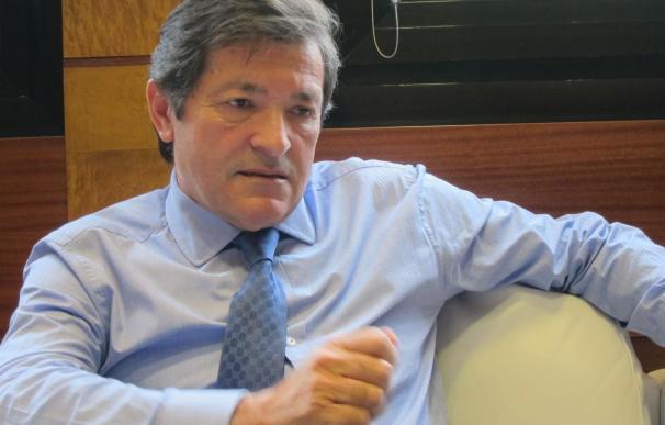 Javier Fernández (PSOE), presidente del Principado de Asturias.
