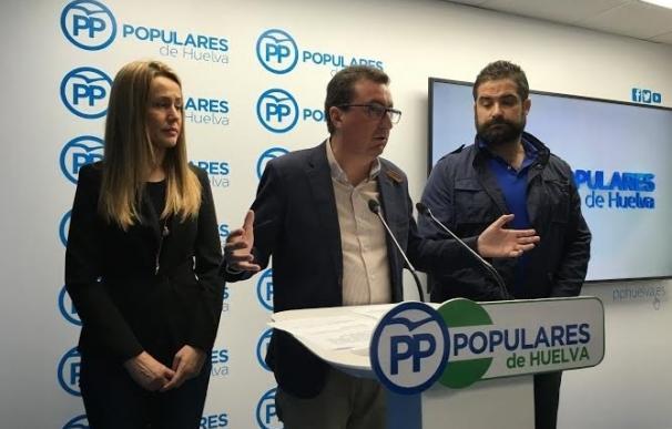 """El PP pedirá a la Junta en el Parlamento el dragado del Piedras """"prometido hace años"""""""