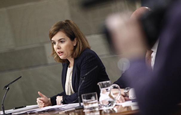 Soraya Sáenz de Santamaría, elegida 'Mujer Líder 2015' en los Premios Internacionales de Madrid Woman's Week
