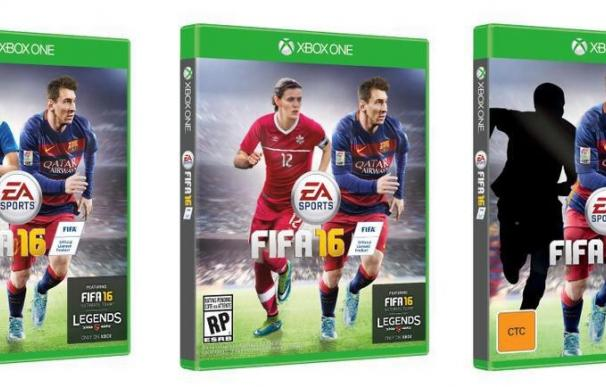 Tres mujeres en la portada de FIFA 16 por primera vez