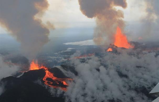 El volcán islandés Baroarbunga