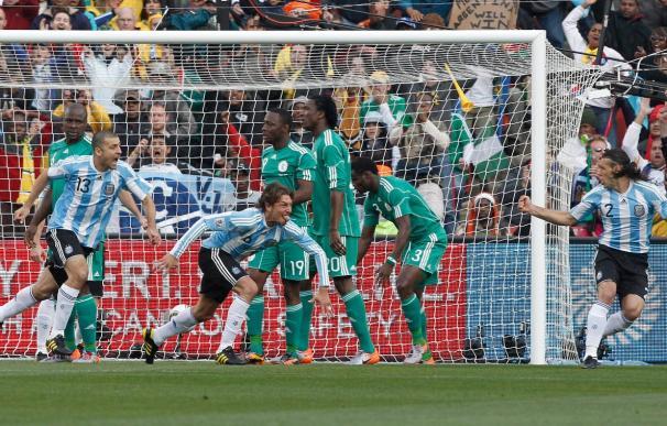 1-0. Argentina se conforma con poco para derrotar a Nigeria