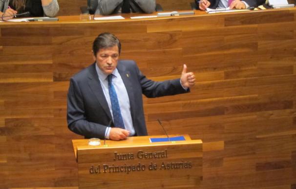 Javier Fernández, reelegido presidente del Principado en tercera votación