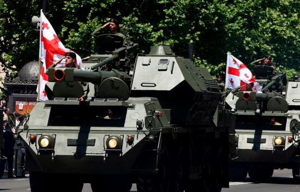 El presidente Saakashvili dice que los imperios jamás doblegarán al pueblo georgiano