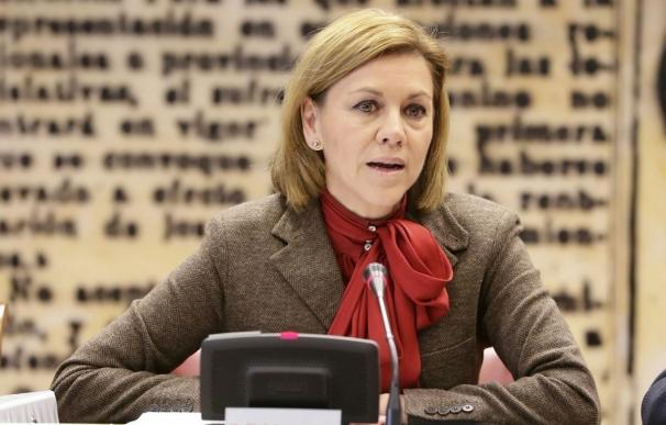 Cospedal responde a ERC que Defensa no va a pedir autorización a ningún municipio para hacer maniobras militares