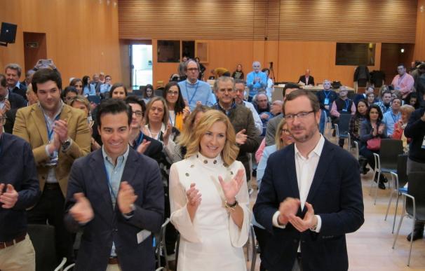 Ana Beltrán elegida presidenta del PPN con el 81,37% de los votos