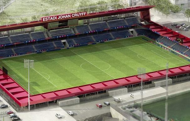 El nuevo Estadi Johan Cruyff.