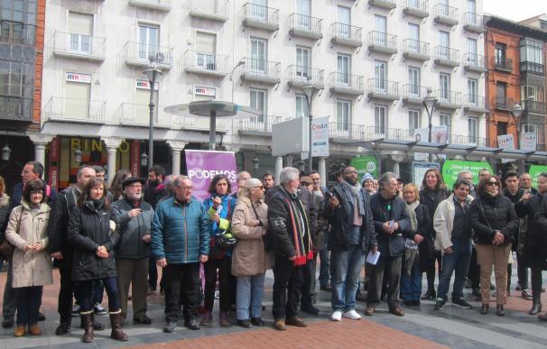 """Vamos Podemos llama a los ciudadanos de CyL a salir a la calle para """"defender y exigir"""" que nadie se quede sin derechos"""