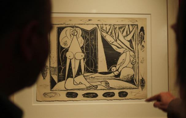 El deseo y la pasión de Picasso reflejados en una exposición en Buenos Aires