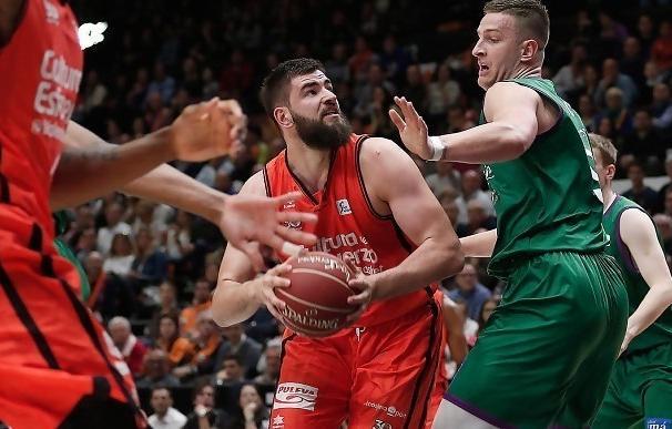Crónica del Valencia Basket - Unicaja, 81-77