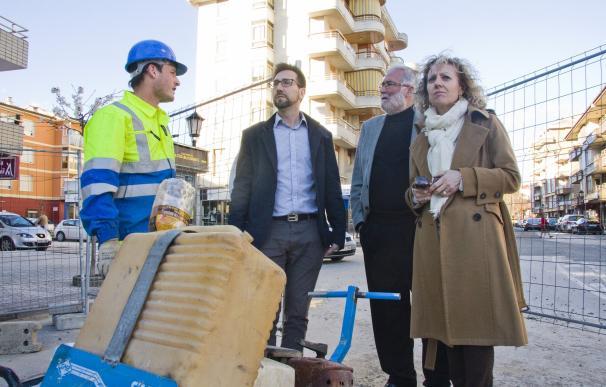 Las obras de la calle Heliodoro Fernández finalizarán tres meses antes de lo previsto
