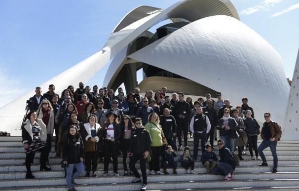 80 'instagramers' celebran el sexto aniversario de @IgersValencia en la Ciudad de las Artes y las Ciencias