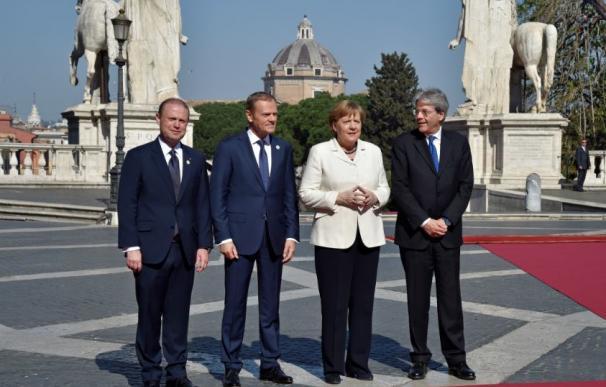 La Unión Europea celebra sus 60 años en Roma bajo la sombra del Brexit