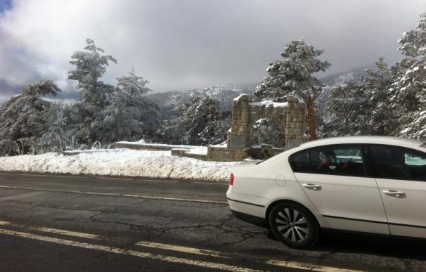 Aviso por nieve en la Sierra a partir de media tarde