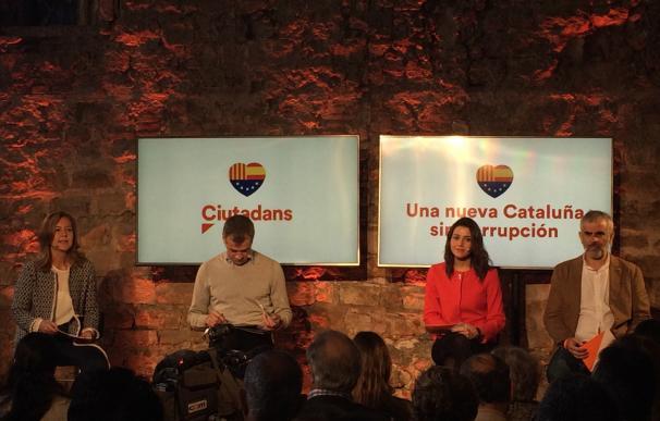 """Arrimadas asegura que Catalunya necesitaba """"una oposición libre"""" como la de CS contra la corrupción"""