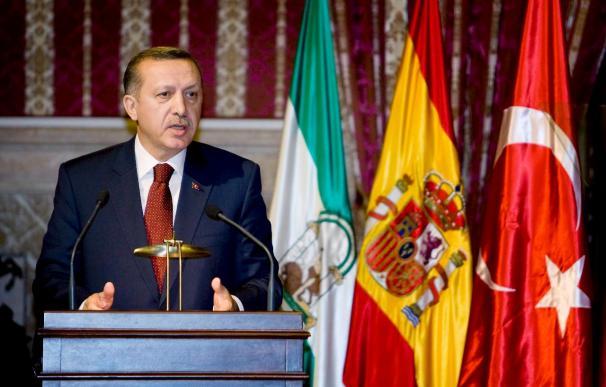 A disposición judicial el joven kurdo que tiró un zapato a Erdogan