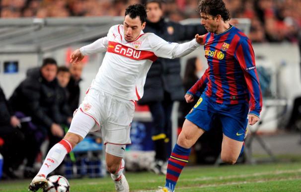 1-1. Ibrahimovic da vida al Barcelona ante un Stuttgart muy luchador