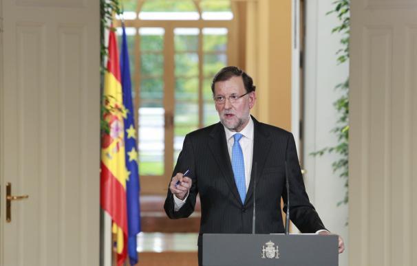 """Rajoy garantiza que el texto de JxSí y la CUP no va """"a surtir efecto alguno"""""""