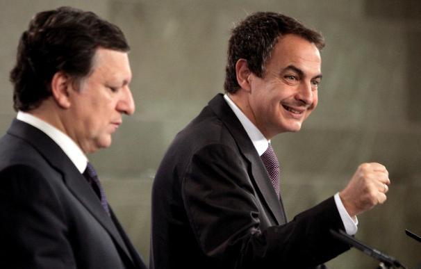 Zapatero y Barroso confían en cerrar acuerdos con Latinoamérica en mayo