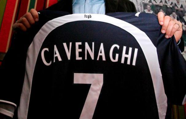 El argentino Ezequiel Cavenaghi llega al Mallorca cedido por el Girondins