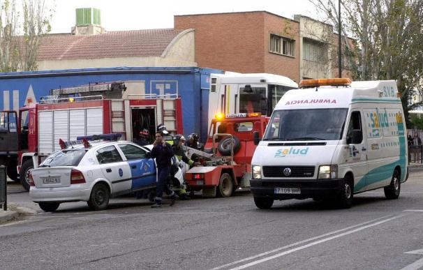Una niña muere y dos hermanos resultan heridos graves al incendiarse la caravana en Zaragoza