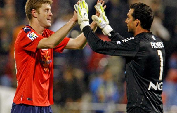 Camacho, pendiente de Ricardo y Juanfran para enfrentarse al Sporting