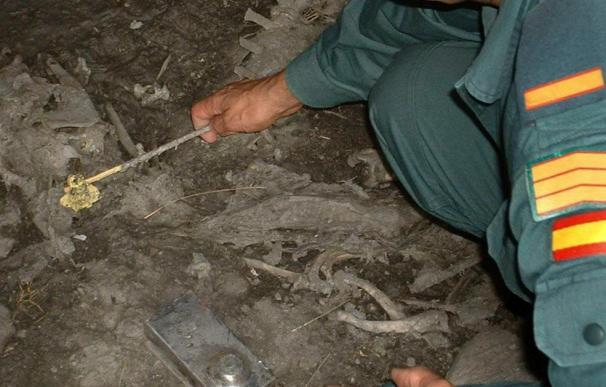 Denuncian a un ganadero por utilizar como pesebres tumbas del siglo VI a.C.