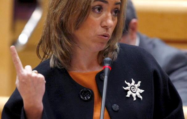 Chacón dice que ni España ni EEUU quieren una base norteamericana en Ciudad Real