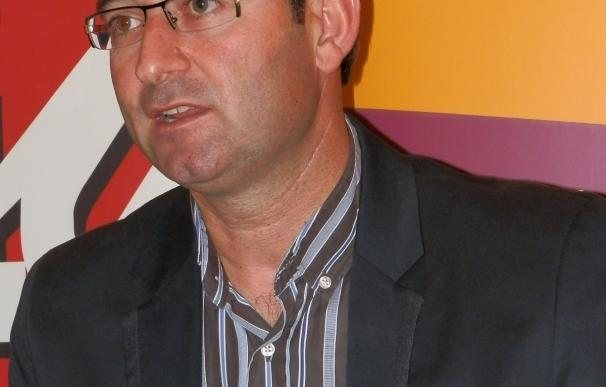 Martínez (IU), predispuesto a repetir la fórmula de la coalición en las elecciones autonómicas y municipales