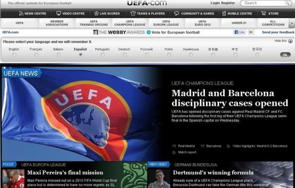 La UEFA abre expediente al Real Madrid y al Barcelona tras el partido de Champions