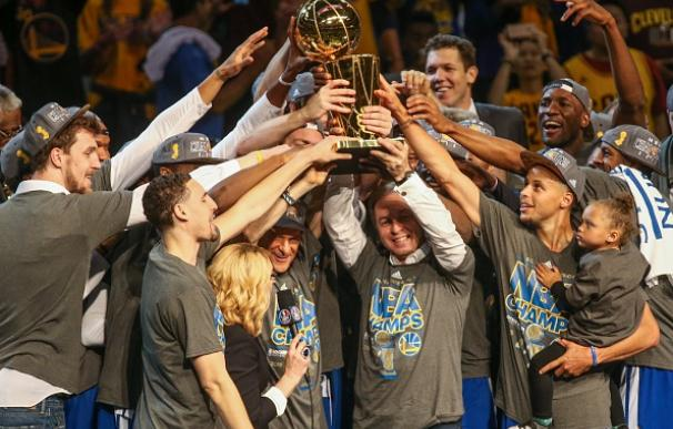 Los Warriors, campeones de la NBA