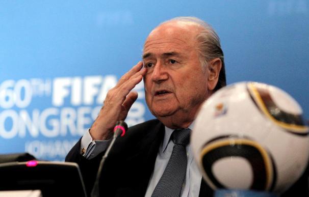 Blatter pidió perdón a México e Inglaterra
