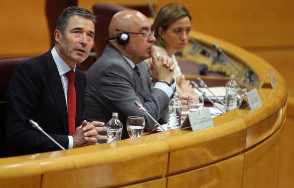 Chacón dice que el éxito de la OTAN en Libia determinará su papel en el Mediterráneo