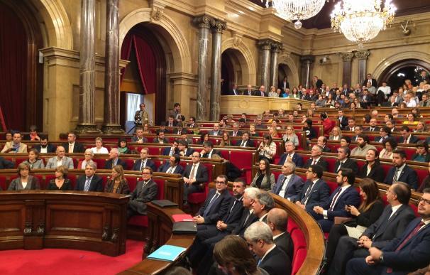 Vista del Parlament de Cataluña (archivo)