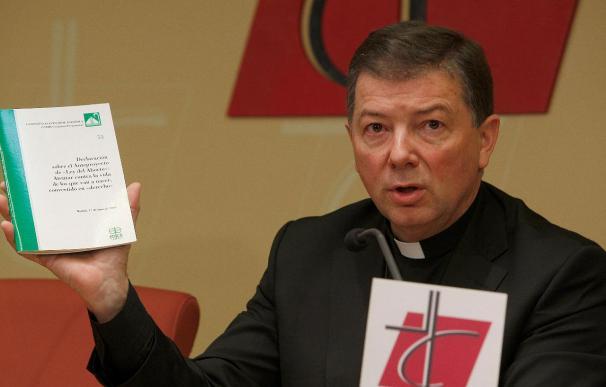 Los obispos no van a pronunciarse sobre si el Rey debe sancionar ley aborto