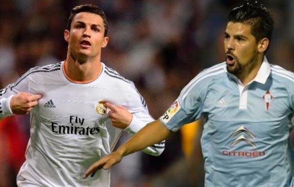 Real Madrid-Celta: Ronaldo frente a Nolito con el liderato en juego