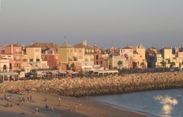 Playa de El Puerto de Santa María (Cádiz).