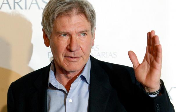 """Harrison Ford dice que no tiene héroes y que lo admirable es """"un trabajo bien hecho"""""""