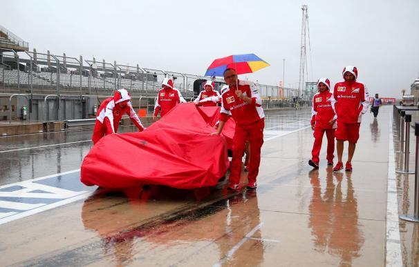 AUSTIN, TX - OCTOBER 24: Members of the Ferrari te